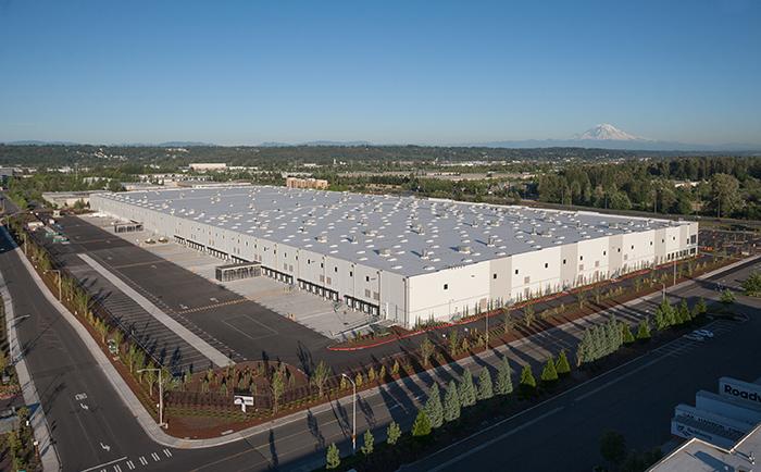 Amazon Distribution Center, Kent, WA | SunSteel, LLC